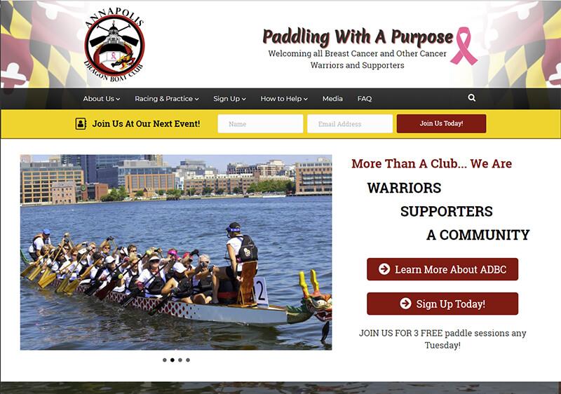Annapolis Dragon Boat Club Website