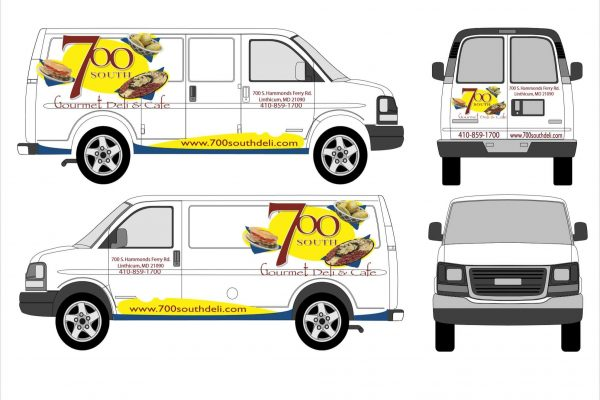 700 South Catering Van Design
