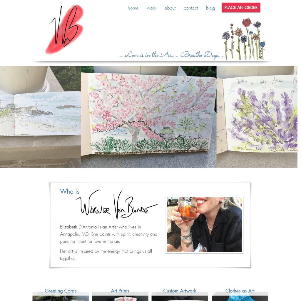 Werner Von Blonde Homepage